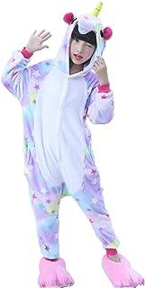 65634b8f Semia Niño Unicornio Pijamas Niña Unisex Monos Ropa de Dormir Disfraz de Animal  Cosplay Traje Disfraz