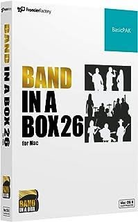 PG Music ピージーミュージック/Band-in-a-Box 26 for Mac BasicPAK バンドインアボックス