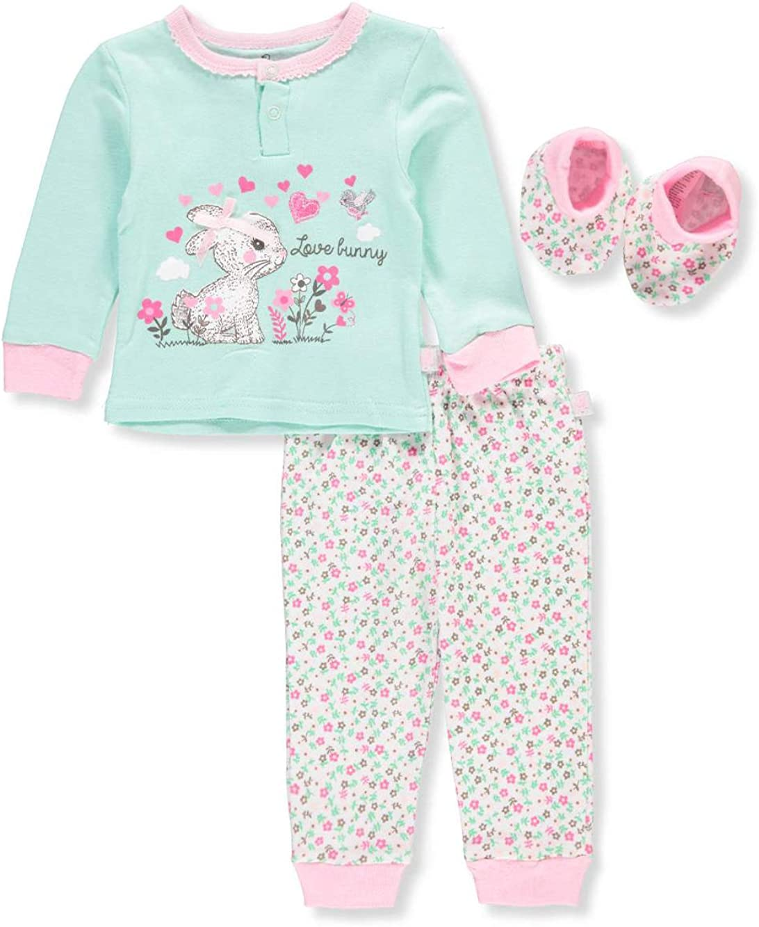 Duck Goose Max 43% OFF Baby Excellence Girls' Layette Set 3-Piece