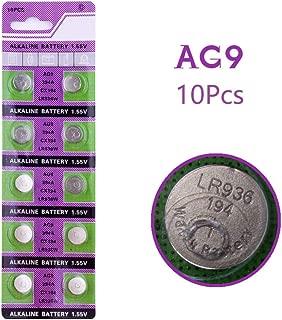 Cotchear Button Cell Watch Batteries 1.5v AG9 194 LR936 Count 10Pcs