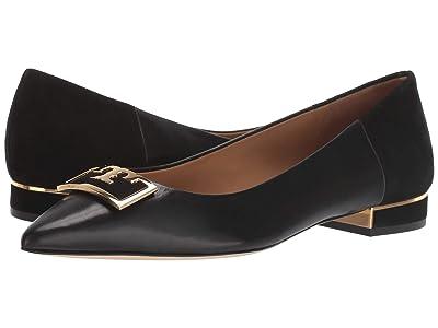 Tory Burch 20 mm Gigi Pointy Toe Flat (Perfect Black/Perfect Black) Women