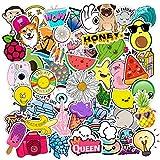 HLKJGS 200PCS Summe Stickers Pack para el portátil Nevera Teléfono Skateboard Maleta de Viaje Equipaje Cute Fruit...