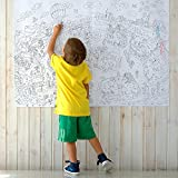 Colorings for children Zooland. Coloring pages for kids and adults. Color me posters for family. Big giant coloring poster! by O-Kroshka