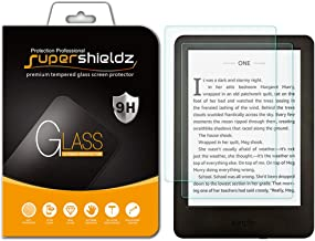 (2 Pack) Supershieldz for All New Kindle (10th Generation 2019), Kindle E-Reader (8th Generation) and Kindle Paperwhite (7th Generation) Tempered Glass Screen Protector, Anti Scratch, Bubble Free