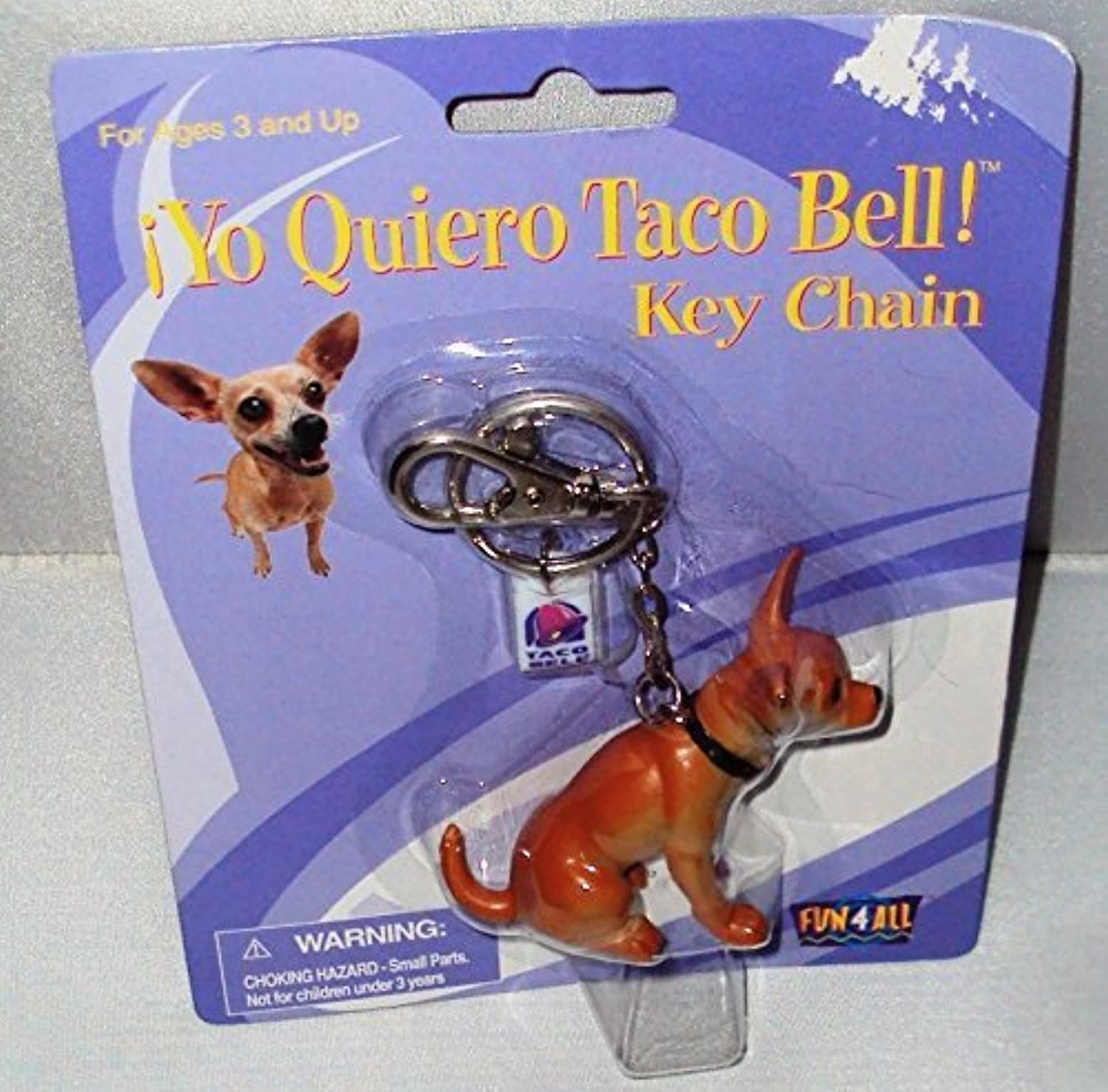 Yo Quiero Taco Bell Key Chain by Fun 4 All