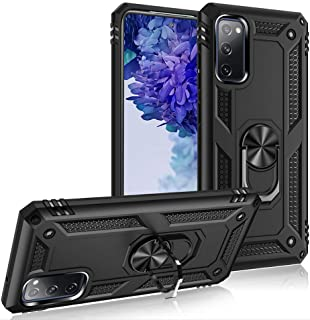 Goodern Case for Samsung Note 20 Ultra 5G with Kickstand and Metal Ring Shockproof Military Grade Drop Tested Slim Dual La...