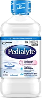 Pedialyte Electrolyte Solution, Unflavored, 1 Liter