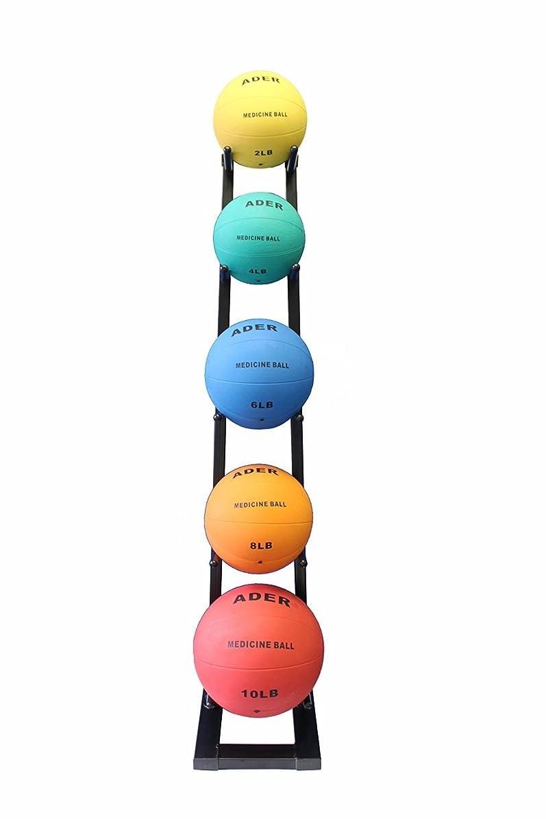 滑りやすい傑作暗殺AderゴムMedicine Ball 1?kg - 10?kg