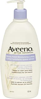 Aveeno Stress Relief Moisturizing Body Lotion with Ylang Ylang and Lavender, Dry and Sensitive Skin Moisturizer, 532 mL