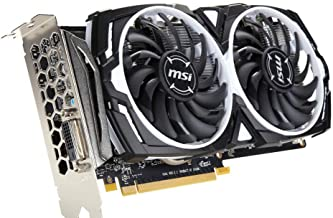 MSI Radeon RX 470 Miner 8Gb GDDR5 256 bit, DVI Port only with HDMI Converter efficient for Smooth HD and VR Gaming DirectX12 Performance.