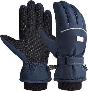 Kids Winter Gloves Waterproof Touchscreen Gloves...