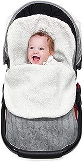 ReachMe Newborn Baby Wrap Swaddle Blanket Knit Sleeping Bag Sleep Sack Stroller Wrap