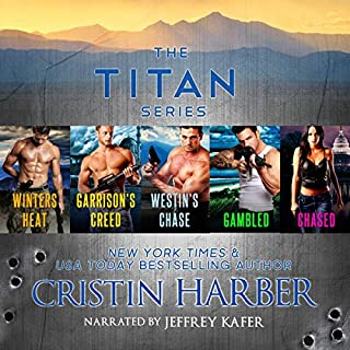 The Titan Series audiobook cover art