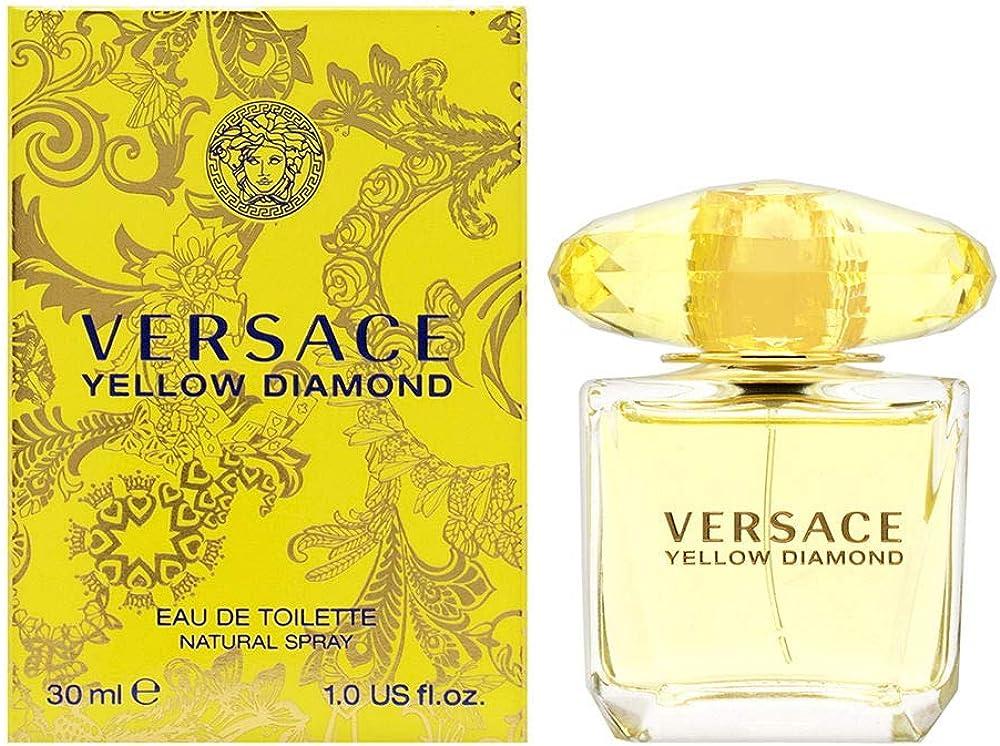 Gianni versace ,versace yellow diamond, eau de toilette per donna, vapo ,30ml 12743?