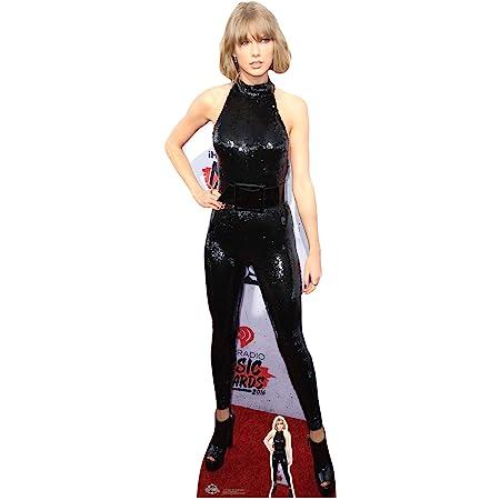 Celebrity Figura Taylor Swift Cat Suit Cut out, Multicolor