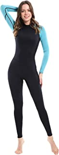 Premium CR Neoprene Wetsuit, Women and Mens Full Suit Scuba Diving Thermal Wetsuit in 3/2mm and 5/4mm