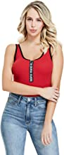 GUESS Factory Women's Jacey Logo Tape Bodysuit
