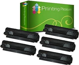 3 Compatibles Canon 712 Cartuchos de tóner para Canon LBP-3010 LBP-3100 LBP-3018 LBP-3108 LBP-3050 LBP-3150 - Negro, Alta Capacidad