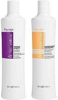 Fanola No Yellow Shampoo 350 ml & Fanola Nutri Care Conditioner 350 ml