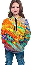 Funny Cool Sweatshirts Sportswear with Kangaroo Pockets for Teen Girls Boys