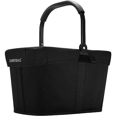 Reisenthel carrybag Frame Black Henkelkorb Einkaufskorb schwarz + Cover schwarz