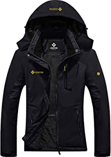 Women's Mountain Waterproof Ski Snow Jacket Winter Windproof Rain Jacket
