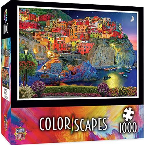 MasterPieces 71803 Colorscapes Evening Glow Puzzle, multicolor, 19.25 pulgadas x 26.75 pulgadas