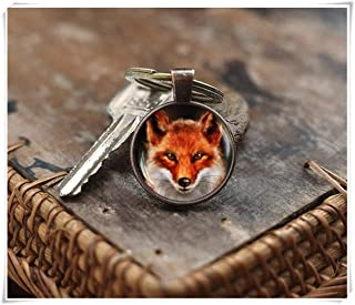 we are Forever family Red Fox Keychain, Fox Keychain, Vixen Wildlife Keychain, Fox Art Keychain, Woodland Keychain, Red Fox Keychain, Nature Keychain, Fox Lover Gift