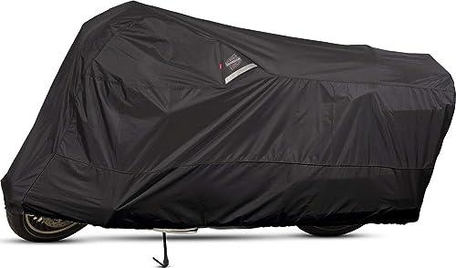 Dowco Guardian 50005-02 WeatherAll Plus Indoor/Outdoor Waterproof Motorcycle Cover: Black, XX-Large