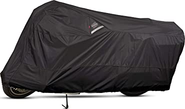 Dowco Guardian 50002-02 WeatherAll Plus Indoor/Outdoor Waterproof Motorcycle Cover: Black, Medium