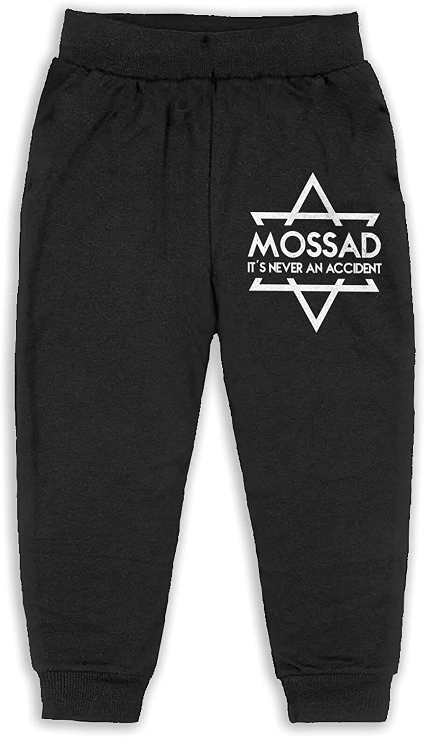 Mossad It's Never an Accident Baby Toddler Boys'Cotton Jogger Casual Slacks 2t-6 (5-6 Years)