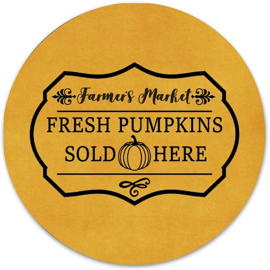 ArogGeld Funny Halloween Quote Ranking integrated 1st place Purchase Metal Fresh Sign Sold He Pumpkins