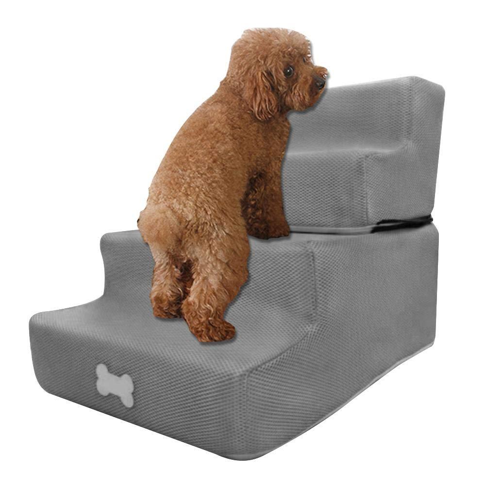 Pasos para perros Escaleras para mascotas Escaleras para 4 pasos Pasos para gatos para perros Escalera para rampa para mascotas Ensamblaje desmontable Pasos para perros Pasos para perros Escaleras: Amazon.es: Productos para