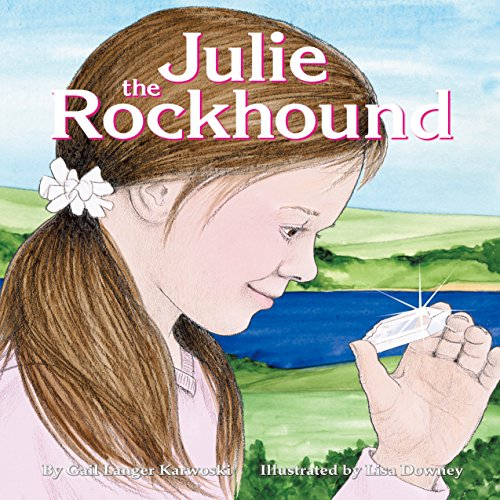 Julie the Rockhound audiobook cover art