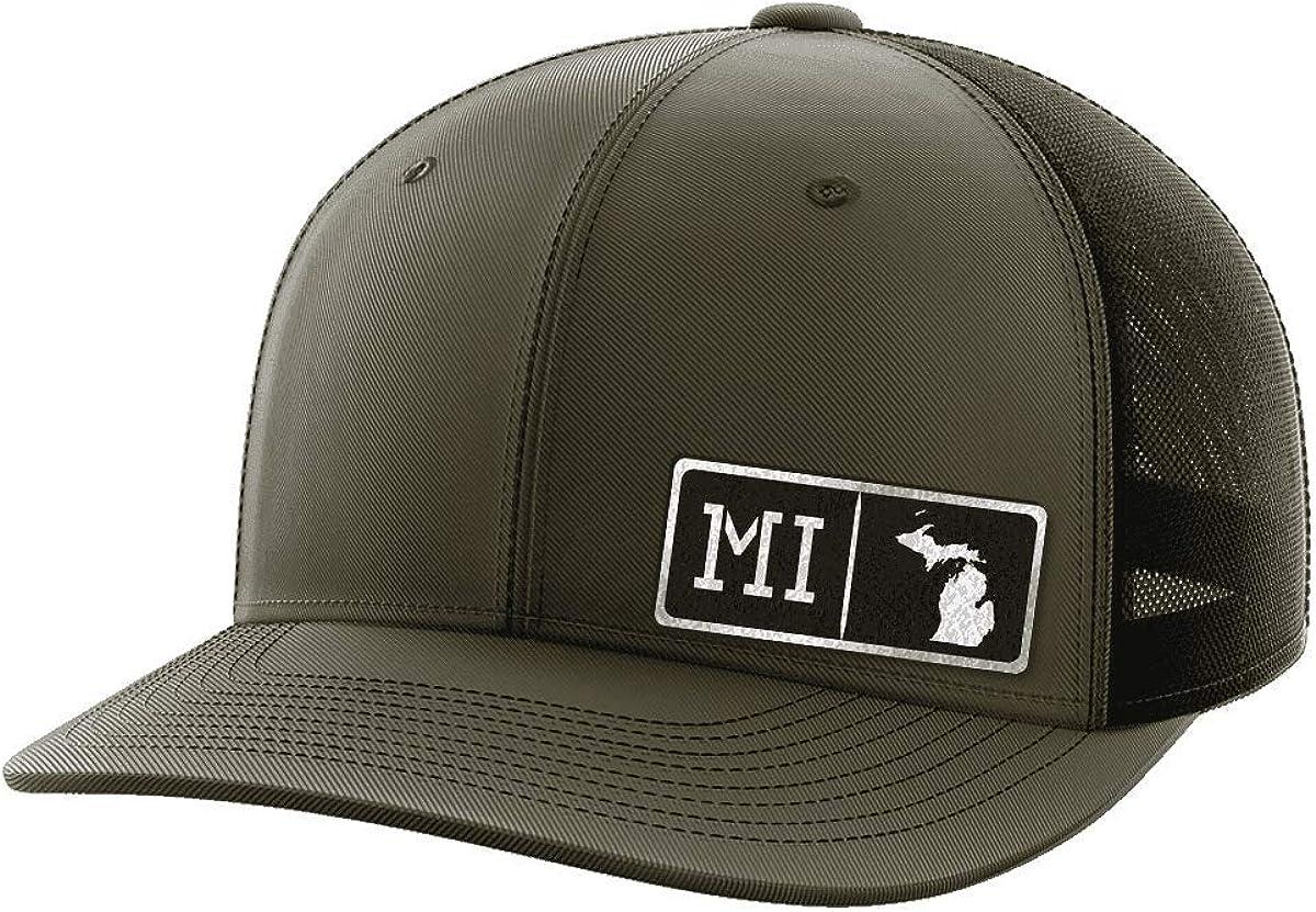 Michigan Homegrown Black Patch Hat
