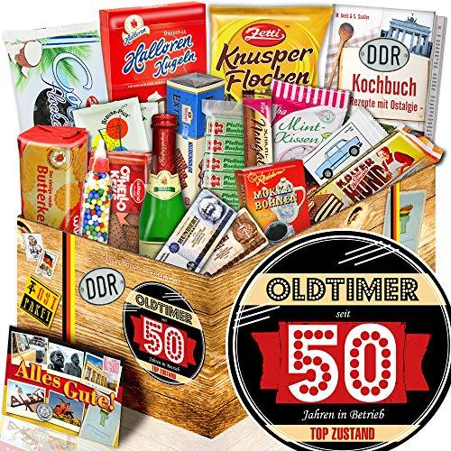 Oldtimer 50 ++ Süßigkeiten Set DDR ++ Zum 50ten Geburtstag