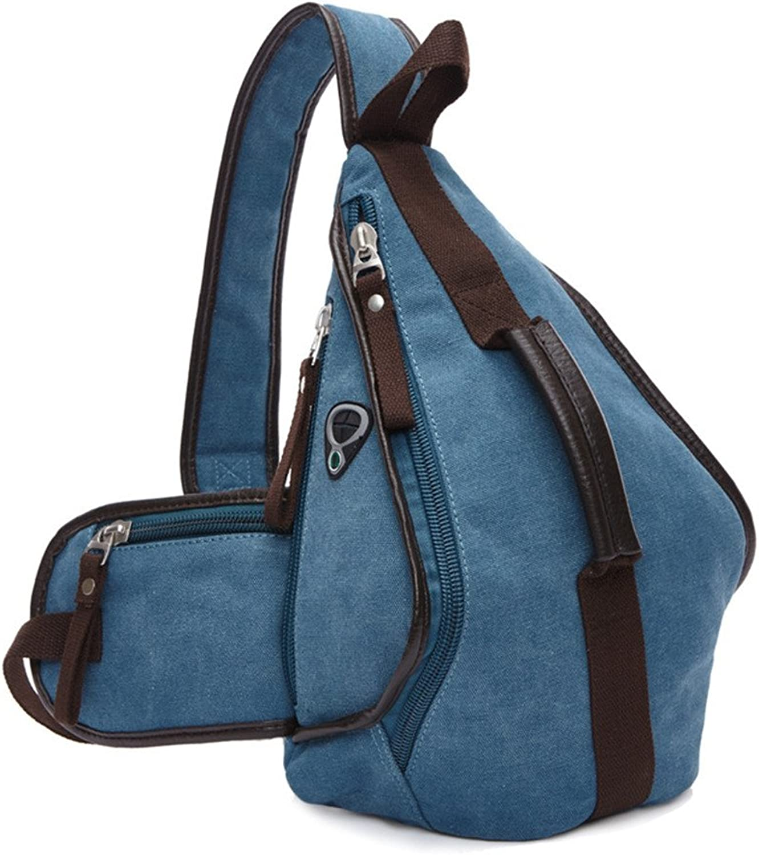 Outdoor Sling Bag Chest Shoulder Backpack Crossbody Bags Outdoor Hiking Men Women Casual