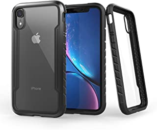 KAERSI iPhone XR Case, Mobile Phone Cover Case for iPhone XR, Military Grade Drop Tested,Anti-Scratch Shock Absorption Protective Case Compatible with Apple iPhone XR 6.1 Inch - Black