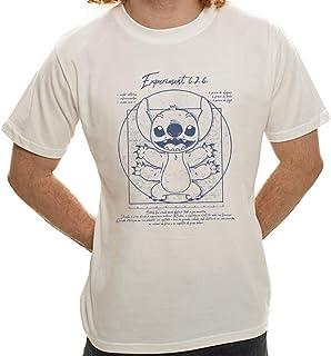 Camiseta Stitch Vitruviano - Masculina
