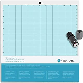 Silhouette America Bundle Pack Silhouette Cameo 12x 12 Cutting Mat and Blade, 12 x 12, 2 Piece