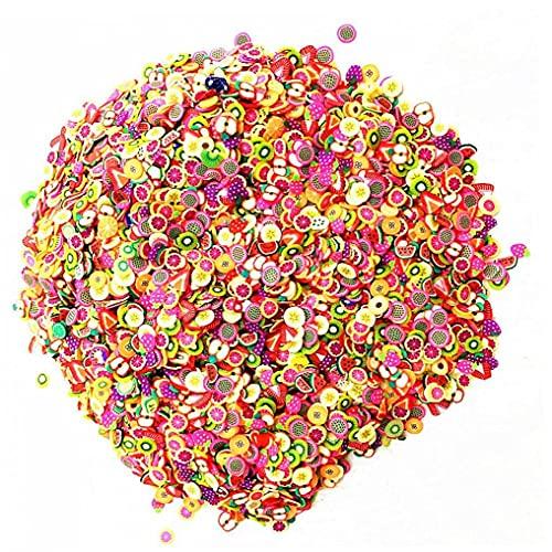 Ruluti Wypełniacz slime puszyste y owocowe polimer przezroczysty szlamowy akcesoria wsuwane glinka zabawki dla dzieci