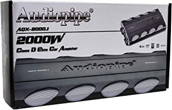Audiopipe AQX-2000.1 2000W Monoblock Class D Elite Subwoofer Amplifier
