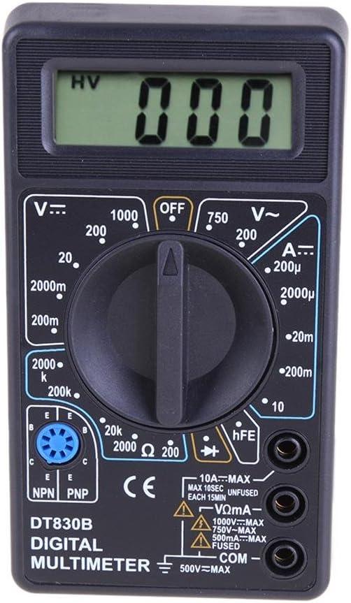 Everpert Dt 830b Lcd Digital Multimeter Ac Dc 750 1000v Amp Volt Ohm Tester Meter Beleuchtung