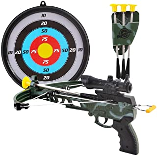 Kings Sport Military Toy Crossbow Set w/ Target