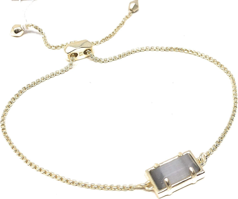 Kendra Scott Phillipa Bracelet Gold Slate Cat's Eye
