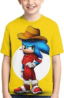 RONGANDHE Teens T-Shirts 3D Print Boys and Girls Fashion T-Shirts Short Sleeve Anime Cartoon T Shirt