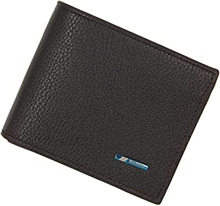 BeniNew men's wallet short wallet-dark brown