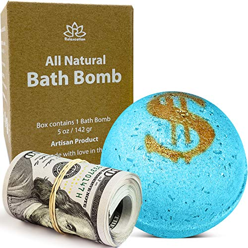 Bath Bomb with Real Money Inside Ca…