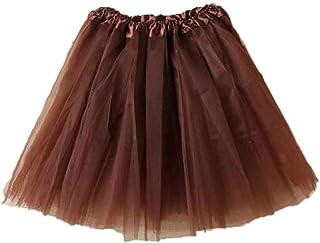 fff46234b Amazon.es: falda tutu - Marrón
