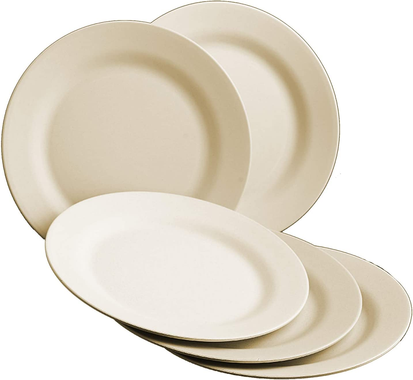 """Choary Lightweight Unbreakable Wheat 11""""5 Straw Max OFFicial 81% OFF Pac Plates"""